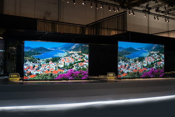 Image of CES Sony TV Booth
