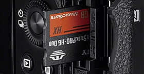 SD memory card slot