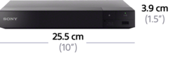 Picture of 4K Upscale Blu-ray Disc™ Player with Wi-Fi PRO