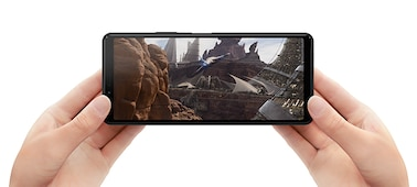 "Xperia 10 II with 21:9 Wide 6"" OLED display"