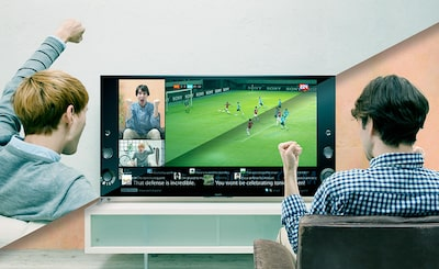 Content sharing with friends on Sony's Smart Televisions