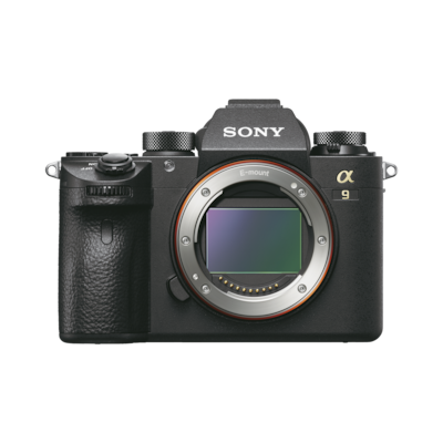 Picture of α9 full frame mirrorless camera with stacked CMOS sensor
