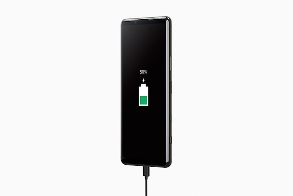 Up to 50% charge in just 30 minutes