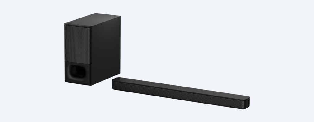 Images of 2.1ch Soundbar with powerful wireless subwoofer and BLUETOOTH® technology | HT-S350