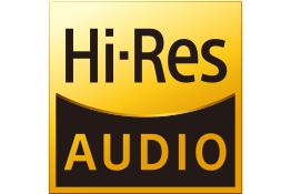 High-Resolution Audio logo