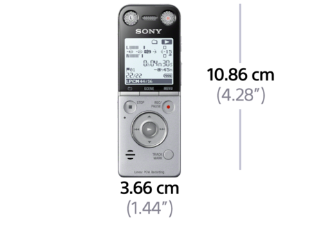 Picture of SX734 Digital Voice Recorder SX Series
