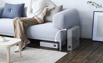 horizontal and vertical subwoofer